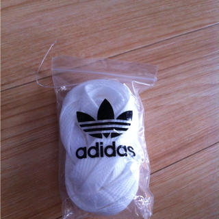 アディダス(adidas)のadidas靴紐白♬(その他)