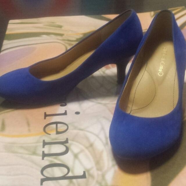 OPAQUE(オペーク)のローヒールパンプス レディースの靴/シューズ(ハイヒール/パンプス)の商品写真