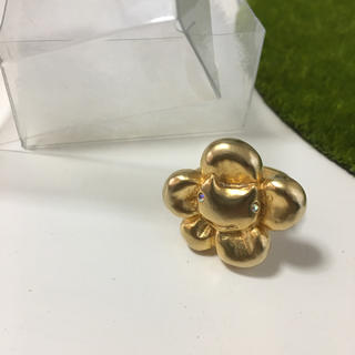 ツモリチサト(TSUMORI CHISATO)のお花リング(リング(指輪))
