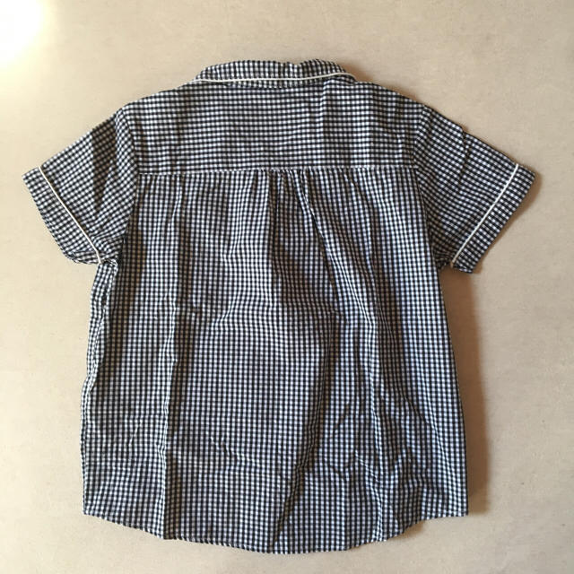 GU(ジーユー)のGU ギンガムチェックパジャマ(Sサイズ) レディースのルームウェア/パジャマ(パジャマ)の商品写真