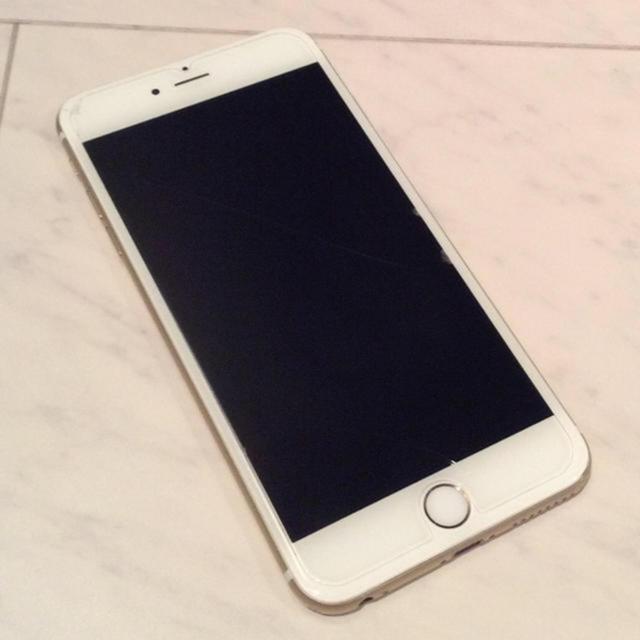プラダ iphone8plus カバー tpu | Apple -  iPhone6 plus 128GB SoftBank※CHANELケース付きの通販 by ゆっきりーな's shop|アップルならラクマ
