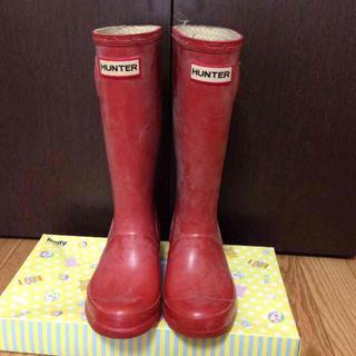 ハンター(HUNTER)のハンターHUNTER☆レインシューズ 長靴☆EU32 / 20cm-20,5cm(長靴/レインシューズ)