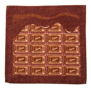 キューポット(Q-pot.)のメルトチョコレートミニタオル(ハンカチ)