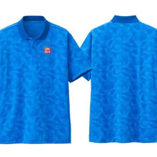 UNIQLO(ユニクロ)のユニクロ 錦織 テニス ポロシャツ 上下 メンズのトップス(ポロシャツ)の商品写真