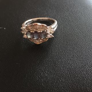 最終値下げ❣️天然アレキサンドライトダイヤモンドリング(リング(指輪))