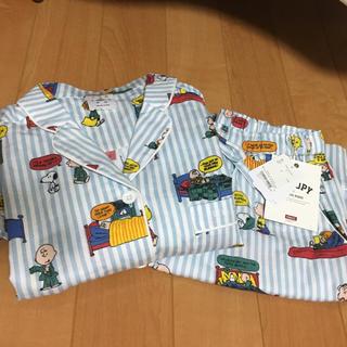 ジェラートピケ(gelato pique)のジェラートピケ×スヌーピーコラボ☆パジャマ上下セット(パジャマ)