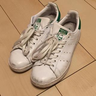 アディダス(adidas)のアディダス スタンスミス♡24.5グリーン(スニーカー)