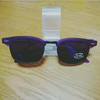 グリモワール(Grimoire)の新品サングラス紫(サングラス/メガネ)