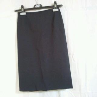 アンタイトル(UNTITLED)の9月12日23時まで300円UNTITLED美ラインタイトスカート    (ひざ丈スカート)