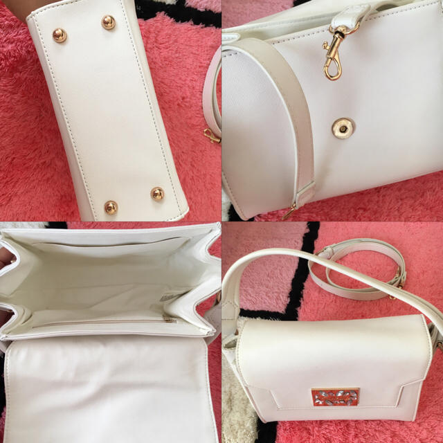 EmiriaWiz(エミリアウィズ)のEmiriawiz ♡ポッシュバッグ 白 レディースのバッグ(ショルダーバッグ)の商品写真