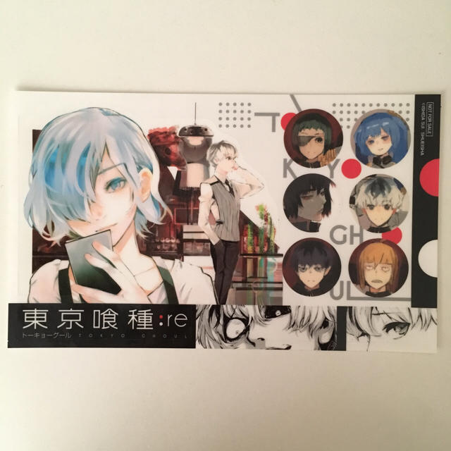 【東京喰種】ステッカー ポストカード(シール)★ エンタメ/ホビーのアニメグッズ(カード)の商品写真