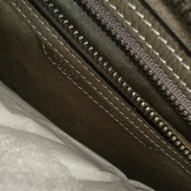 4d5684bcbf12 celine(セリーヌ)の昨年秋購入 未使用 ラゲージ マイクロ スリ セリーヌ レディースの