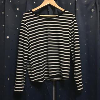 メゾンドリーファー(Maison de Reefur)のreefur ロングスリーブボーダーTシャツ(Tシャツ/カットソー(七分/長袖))