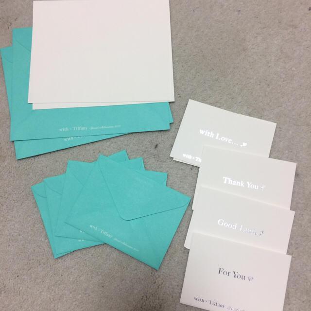 official photos bba2b 60fda Tiffany レターセット