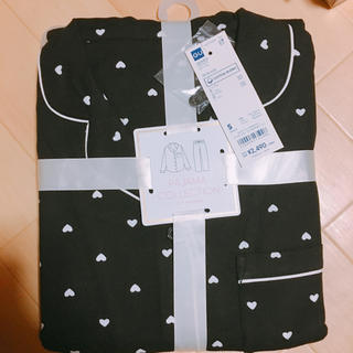 ジーユー(GU)のGU パジャマ ハート 新品(パジャマ)