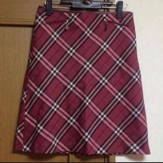 バーバリー(BURBERRY)のバーバリーブルーレーベル♡スカート(ひざ丈スカート)