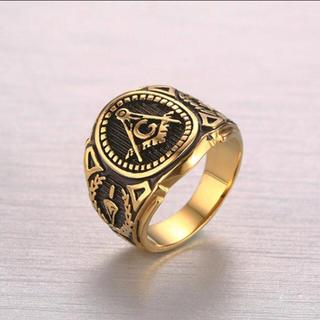 メンズ フリーメイソン リング (リング(指輪))