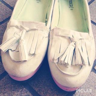 フォーエバートゥエンティーワン(FOREVER 21)のパステル(ローファー/革靴)