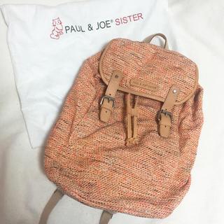 ポールアンドジョー(PAUL & JOE)の【未使用】Paul&Joe SISTER リュック(リュック/バックパック)