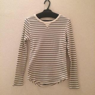 ジーユー(GU)のボーダーT(Tシャツ(長袖/七分))