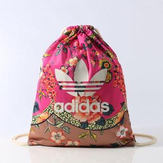 アディダス(adidas)の【新品】adidas オリジナルス Farm ナップサック ジムサック ピンク(リュック/バックパック)