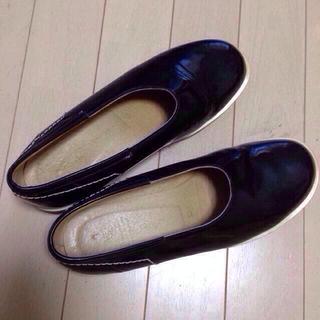 ヨウジヤマモト(Yohji Yamamoto)の☆Y's☆エナメルスリッポン(ローファー/革靴)