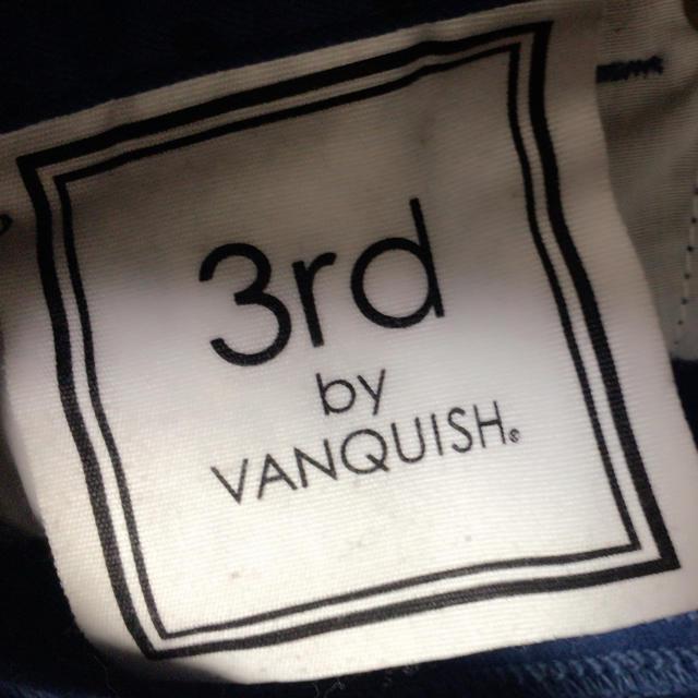 VANQUISH(ヴァンキッシュ)の3rd by VANQUSH ドット柄パンツ ブルー レディースのパンツ(スキニーパンツ)の商品写真