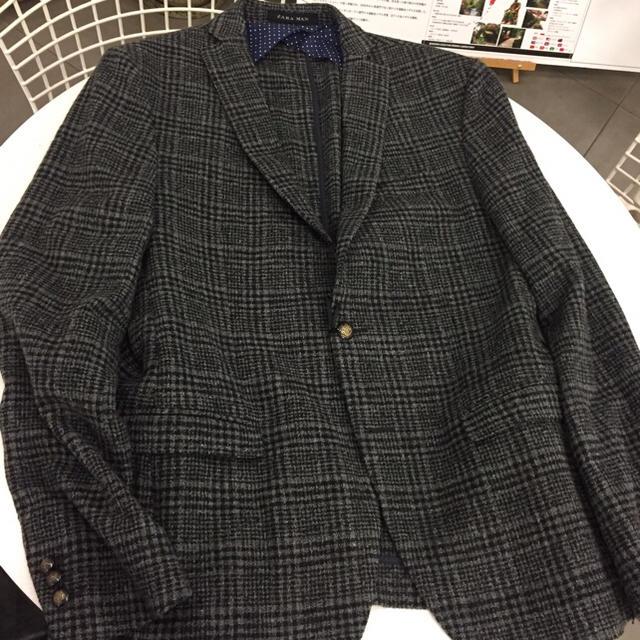 ZARA(ザラ)のジャングルポケット斉藤さん私物 ZARA MANのジャケット メンズのジャケット/アウター(テーラードジャケット)の商品写真