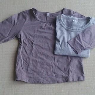 ムジルシリョウヒン(MUJI (無印良品))の無印 キッズ ロンTセット(Tシャツ/カットソー)