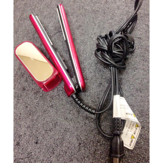 激安モッズヘア コンパクト ヘアアイロン スマホ/家電/カメラの美容/健康(ヘアアイロン)の商品写真