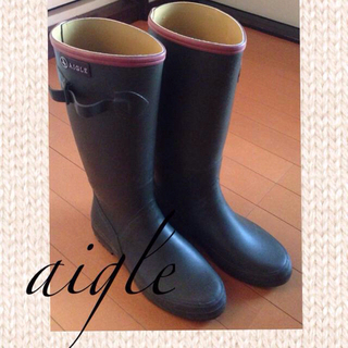 エーグル(AIGLE)のヨッちゃん子様 3月15日までお取り置き(レインブーツ/長靴)