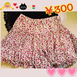 リズリサ(LIZ LISA)のリズリサ 花柄スカート(ひざ丈スカート)