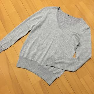 ムジルシリョウヒン(MUJI (無印良品))の1度着用 無印良品 ウールシルク ニット セーター (ニット/セーター)