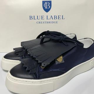 バーバリー(BURBERRY)の【新品 未使用】送料無料 ブルーレーベル クレストブリッジ 靴 スニーカー(スニーカー)