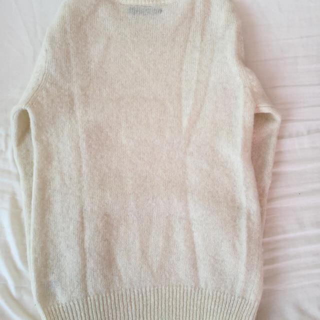 RAGEBLUE(レイジブルー)のレイジブルーの白のニット‼︎今だけ送料無料‼︎ メンズのトップス(ニット/セーター)の商品写真