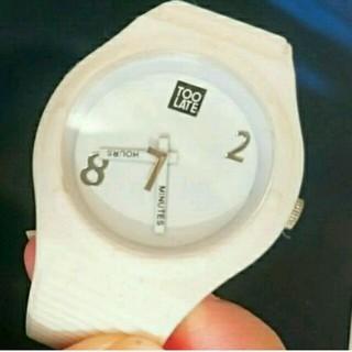トゥレイト(TOO LATE)の【avanlily】時計 TOO LATEコラボ(腕時計)