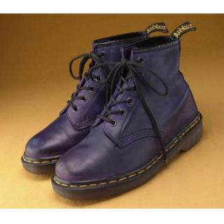 ドクターマーチン(Dr.Martens)のドクターマーチン 6ホール 紫*値下げ‼(ブーツ)