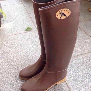 Dafnaなレインブーツ ブラウン(レインブーツ/長靴)