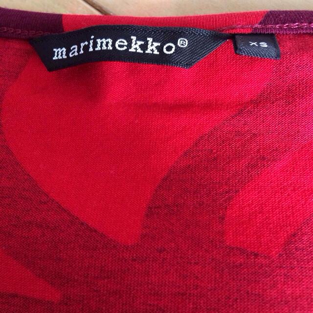 marimekko(マリメッコ)のマリメッコワンピース レディースのワンピース(ひざ丈ワンピース)の商品写真