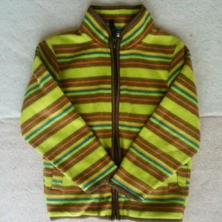 フリース 110 キッズ/ベビー/マタニティのキッズ服 男の子用(90cm~)(ジャケット/上着)の商品写真