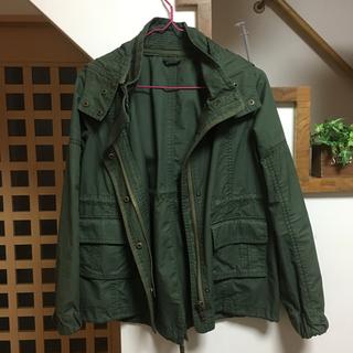 ナチュラルビューティーベーシック(NATURAL BEAUTY BASIC)のカーキ♡ジャケット(ミリタリージャケット)