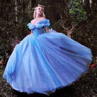 ディズニーシンデレラのウェディングドレス、高級新品(ウェディングドレス)