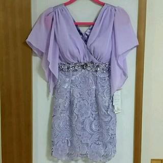 ジュエルズ(JEWELS)のJewels キャバ ドレス ワンピース 紫 サイズS 新品 未使用(ナイトドレス)