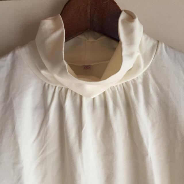 UNIQLO(ユニクロ)の新品 ユニクロ レディース ロンT カットソー S 白 春物 通勤 長袖Tシャツ レディースのトップス(Tシャツ(長袖/七分))の商品写真