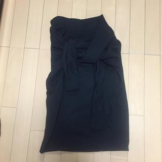 ルシェルブルー(LE CIEL BLEU)のlecielblueスウェットスカート(ひざ丈スカート)