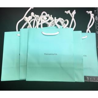 ティファニー(Tiffany & Co.)の未使用品ティファニー紙袋5枚セット(ショップ袋)