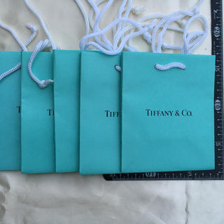 ティファニー(Tiffany & Co.)の未使用・ティファニー手提げ紙袋5枚セット(ショップ袋)