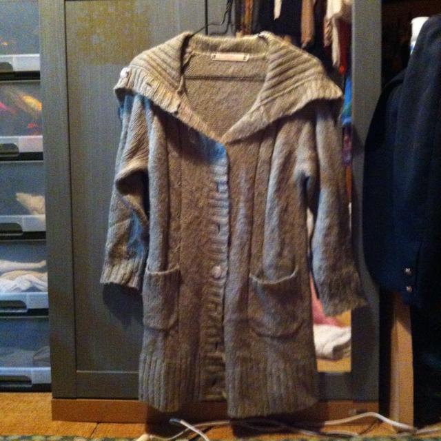 PINK ADOBE(ピンクアドべ)のニット レディースのジャケット/アウター(ロングコート)の商品写真