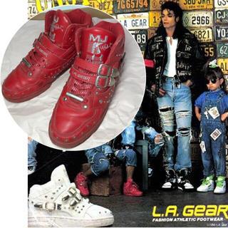 超希少80's マイケルジャクソン LA GEAR スニーカー(スニーカー)