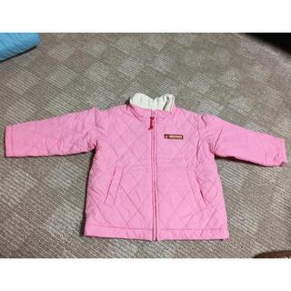 ミキハウス(mikihouse)のミキハウス キルティングジャンパー ピンク★サイズ90cm(ジャケット/上着)
